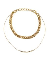 Gogo Philip Metallic Necklace