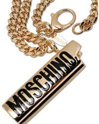 Moschino Metallic Necklace
