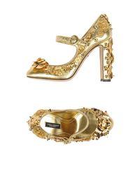 Dolce & Gabbana Metallic Pump