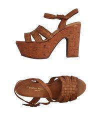 Fauzian Jeunesse Brown Sandals