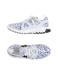 Neil Barrett White Low-tops & Sneakers for men