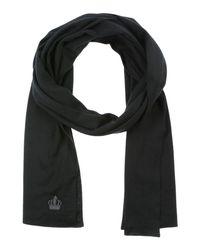 Dolce & Gabbana Black Oblong Scarf for men