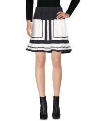 Étoile Isabel Marant White Mini Skirt