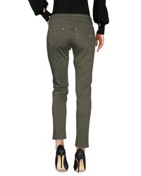 Dondup Green Casual Pants