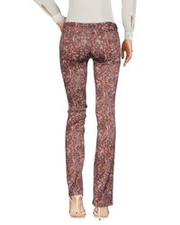 Attic And Barn Brown Casual Trouser