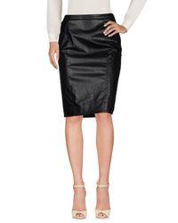 Armani Jeans Black Knee Length Skirt