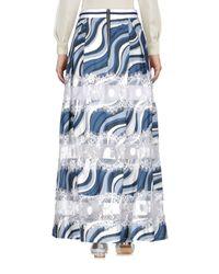 Ainea Blue Long Skirt