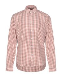 Golden Goose Deluxe Brand Brown Shirt for men
