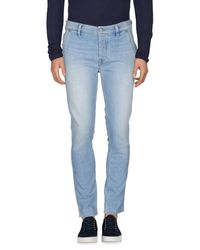 Pepe Jeans Blue Denim Pants for men