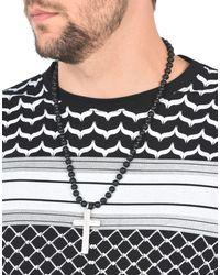 Pierre Darre' - Black Necklace for Men - Lyst