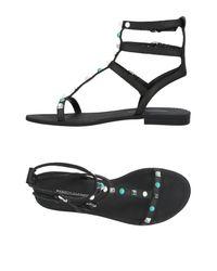 Rebecca Minkoff Black Sandals