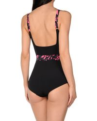 Speedo Black One-piece Swimsuit