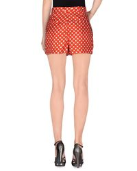 Carven Red Shorts