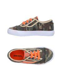 DIESEL Multicolor Low-tops & Sneakers