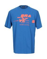 T-shirt di DIESEL in Blue da Uomo