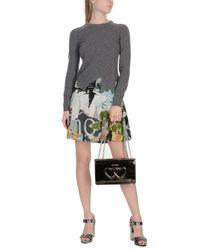 Love Moschino - Gray Shoulder Bag - Lyst
