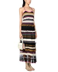 Ferragamo Black Long Dress
