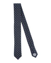 Cravate Eleventy pour homme en coloris Blue
