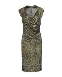Plein Sud Green Knee-length Dress