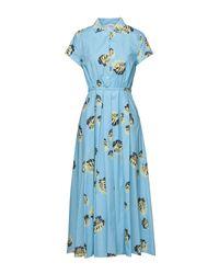 Vestito longuette di Attic And Barn in Blue