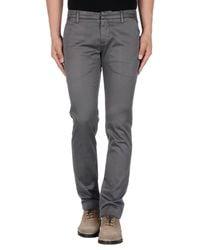 Pantalone di Dondup in Gray da Uomo