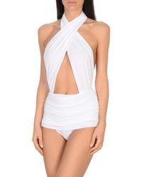 Norma Kamali White Costume