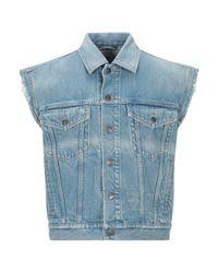 Gucci Blue Denim Outerwear for men