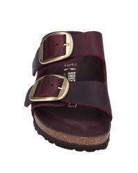Sandalias Birkenstock de color Purple