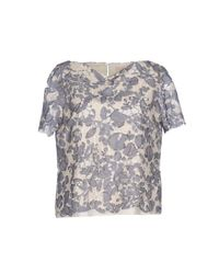 Tory Burch Natural Blouse