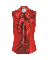 Moschino Red Shirt
