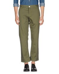 Simon Miller Green Casual Pants for men