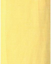 Trou Aux Biches Yellow 3/4-length Trousers