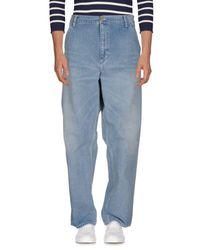 Pantalones vaqueros Carhartt de hombre de color Blue