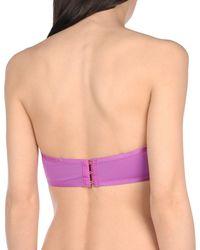 La Perla Purple Bikini Top