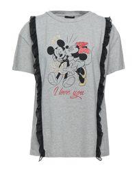 Liu Jo Gray T-shirt