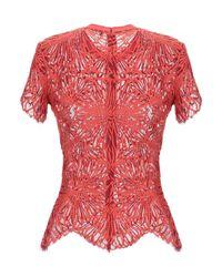 Proenza Schouler Red Bluse