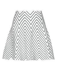 Guess White Knee Length Skirt