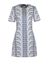 Vanessa Seward White Short Dress