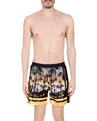 Low Brand Black Swim Trunks for men
