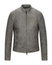 Vintage De Luxe Gray Jacket for men