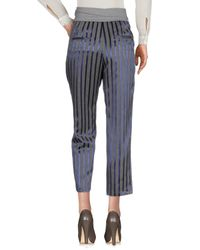 Peserico - Purple Casual Trouser - Lyst