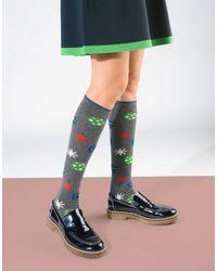 Gallo - Gray Short Socks - Lyst