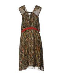 Maliparmi - Black Knee-length Dress - Lyst