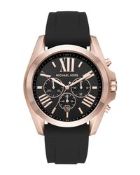 Michael Kors - Black Wrist Watch for Men - Lyst