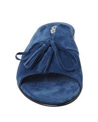 8 Blue Sandals