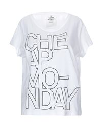 T-shirt di Cheap Monday in White