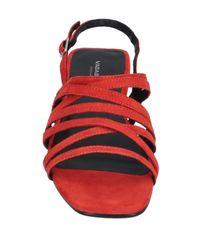 Sandalias Vagabond de color Red