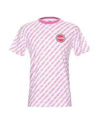 T-shirt Colmar pour homme en coloris Pink