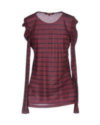 Patrizia Pepe Purple T-shirt