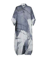 Crea Concept Blue 3/4 Length Dress
